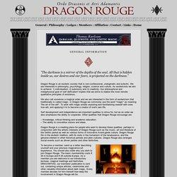 Dragon Rouge : Ordo Draconis et Atri Adamantis