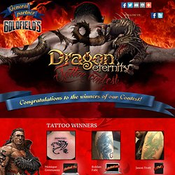 Dragon eternity - tattoo contest