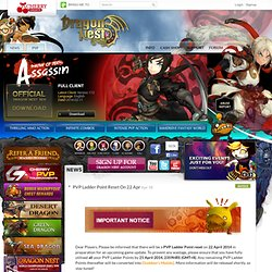 Dragon Nest SEA: Apply for Closed Beta Game Account