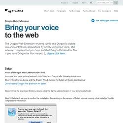 Dragon Web Extension