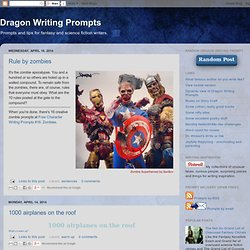 Dragon Writing Prompts
