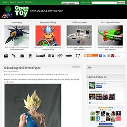 Open The Toy: Gokun Dragonball Perfect Figure
