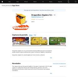 DragonBox Algebra 12+ en AppStore