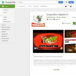 DragonBox Algebra 5+ - Aplicaciones en Google Play