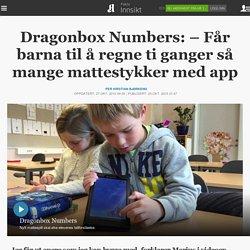 Dragonbox Numbers: – Får barna til å regne ti ganger så mange mattestykker med app
