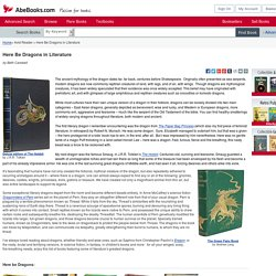 Here Be Dragons: In Literature on AbeBooks