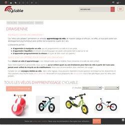 Draisienne Puky, vélos en bois, vélos sans pédales