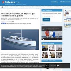 Drakkar 24 de Dufour, un day boat qui contraste avec la gamme