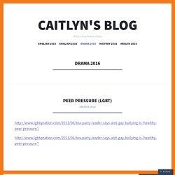 Caitlyn's blog