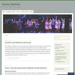Drama – Geena Hutton
