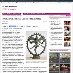 Drama over National Gallery's Shiva statue