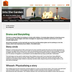 Drama and Storytelling — Into the Garden