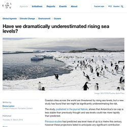 Are Rising Sea Levels Dramatically Underestimated?