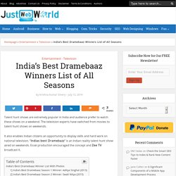 India's Best Dramebaaz Winners List of All Seasons (With Photos)