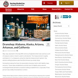 Dramshop: Alabama, Alaska, Arizona, Arkansas, and California