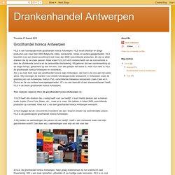 Groothandel horeca Antwerpen