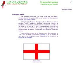 Drapeau anglais, britannique, Union Jack - origine LEXILOGOS