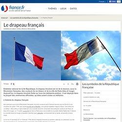 Le drapeau français: informations et cartes