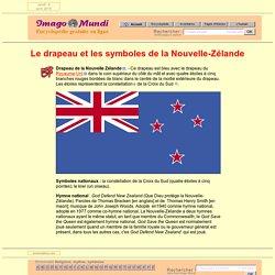 Drapeau et symboles de la Nouvelle Zélande.