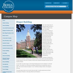 Draper Building - Campus Map