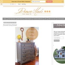 Bronzed Grey Dresser