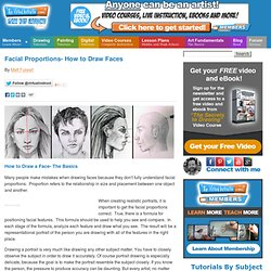 How to Draw a Face - Facial Proportions - Revisited