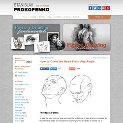 How to Draw the Head From Any Angle | Stan Prokopenkos Blog
