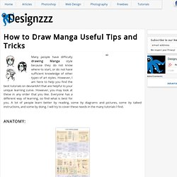 How to Draw Manga Useful Tips and Tricks