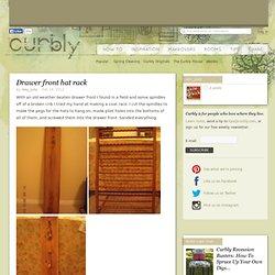 DIY Design Community « Keywords: DIY, hat rack, paint, crib