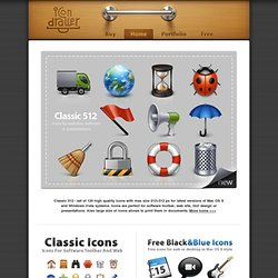 Icon Drawer - Free & Stock Icons