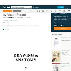 Drawing and Anatomy by Victor Perard