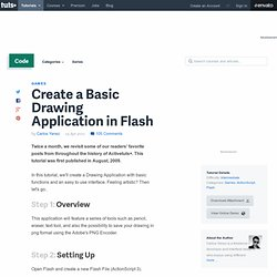 Create a Basic Drawing Application in Flash