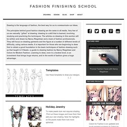 Drawing Archives - Fashion Finishing School