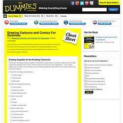 Drawing Cartoons and Comics For Dummies Cheat Sheet
