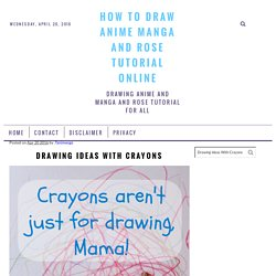 How to draw anime manga and rose tutorial online