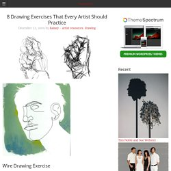 today in art » 8 Drawing Exercises That Every Artist Should Practice