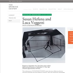 Susan Hefuna and Luca Veggetti