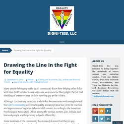 Drawing the Line in the Fight for Equality