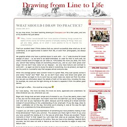 Drawing from Line to Life