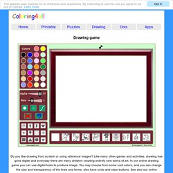 Drawing game Draw online