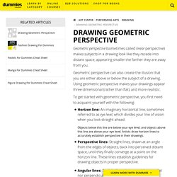 Drawing Geometric Perspective - dummies