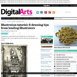 6 drawing tips from leading illustrators - Tutorials
