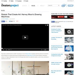 Robots That Create Art: Harvey Moon's Drawing Machines