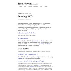 Drawing SVGs