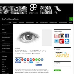 Drawing the Human Eye » OnlyPencil Drawing Tutorials