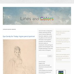 lines and colors :: a blog about drawing, painting, illustration, comics, concept art and other visual arts & Drawing