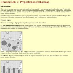 Drawing Lab. 3: Proportional symbol map