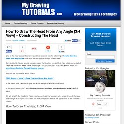 How To Draw The Head From Any Angle [3/4 View] – Constructing The Head