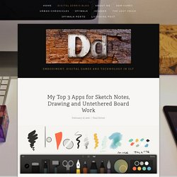 My Top 3 Apps for Sketch Notes, Drawing and Untethered Board Work — Digital Debris