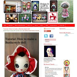 How To Make A Bunka-Style Cloth Doll